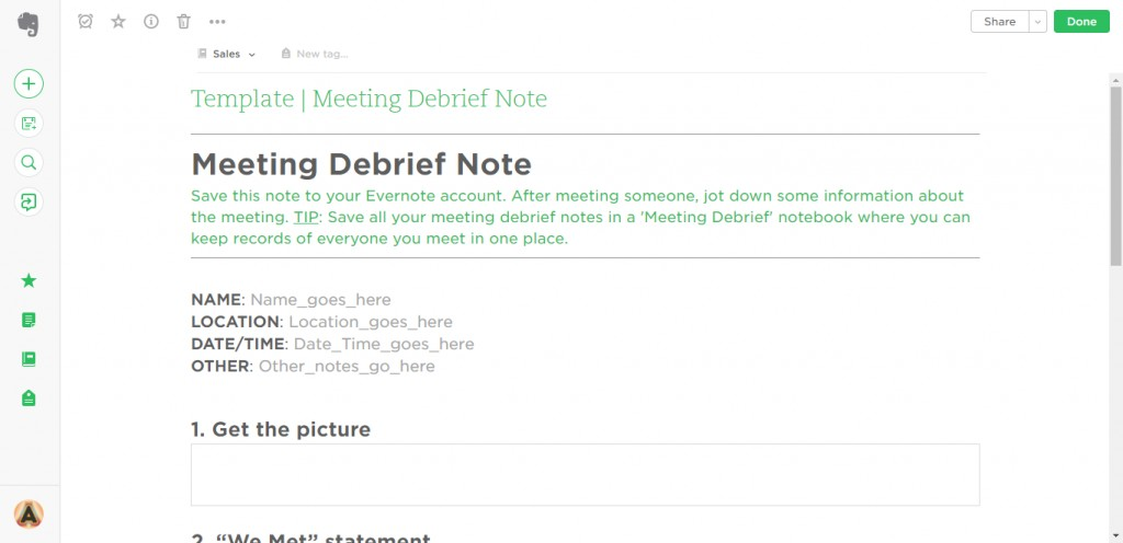 009 Meeting Debrief Evernote Templates Research Paper Note Cards Examples For Unique A Example Card Format Template Large