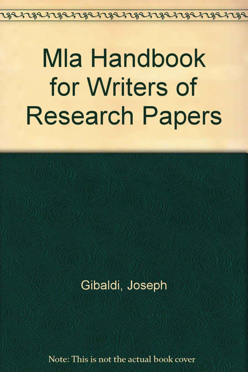 009 Mla Handbook For Writers Of Research Papers 8th Edition Paper Unique Amazon Pdf Free Download