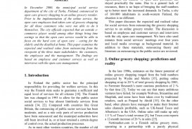 009 Online Grocery Shopping Research Paper Stirring Papers On In India