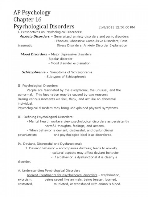 009 Psychology Research Paper Outline Bipolar Disorder Essay Topics Title Pdf College Introduction Question Conclusion Best Apa Forensic 480