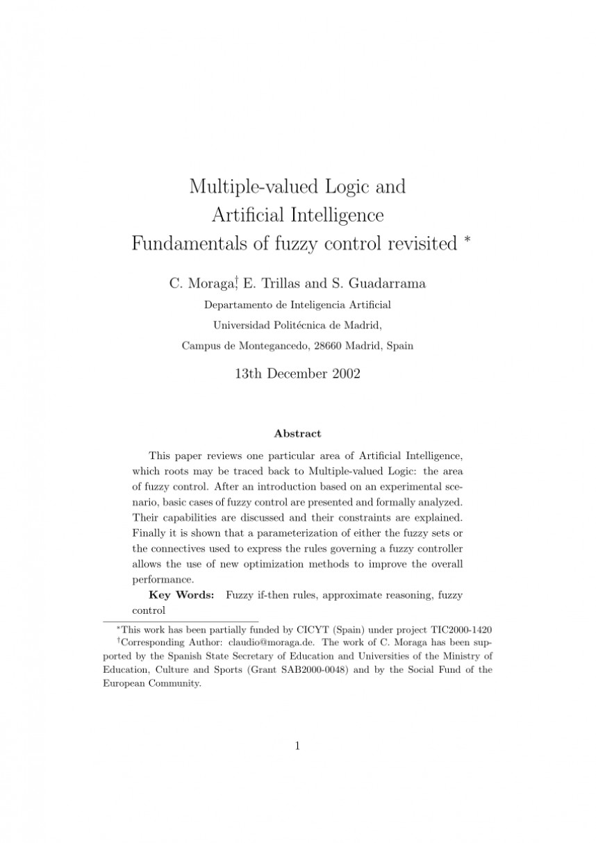 009 Research Paper Artificial Intelligence Outline Rare