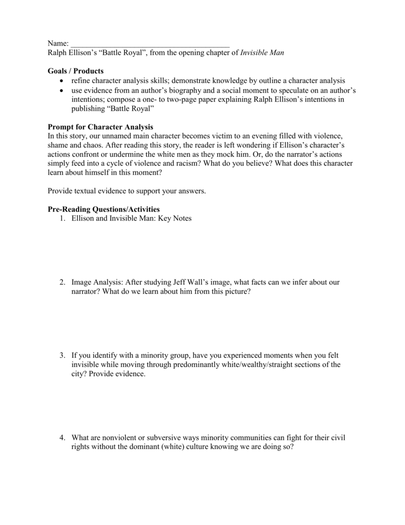 009 Research Paper Battle Royale Topics Royal Literary Analysis20ay Conclusion Prompts Argumentative20 Argumentative On Singular Literature Full
