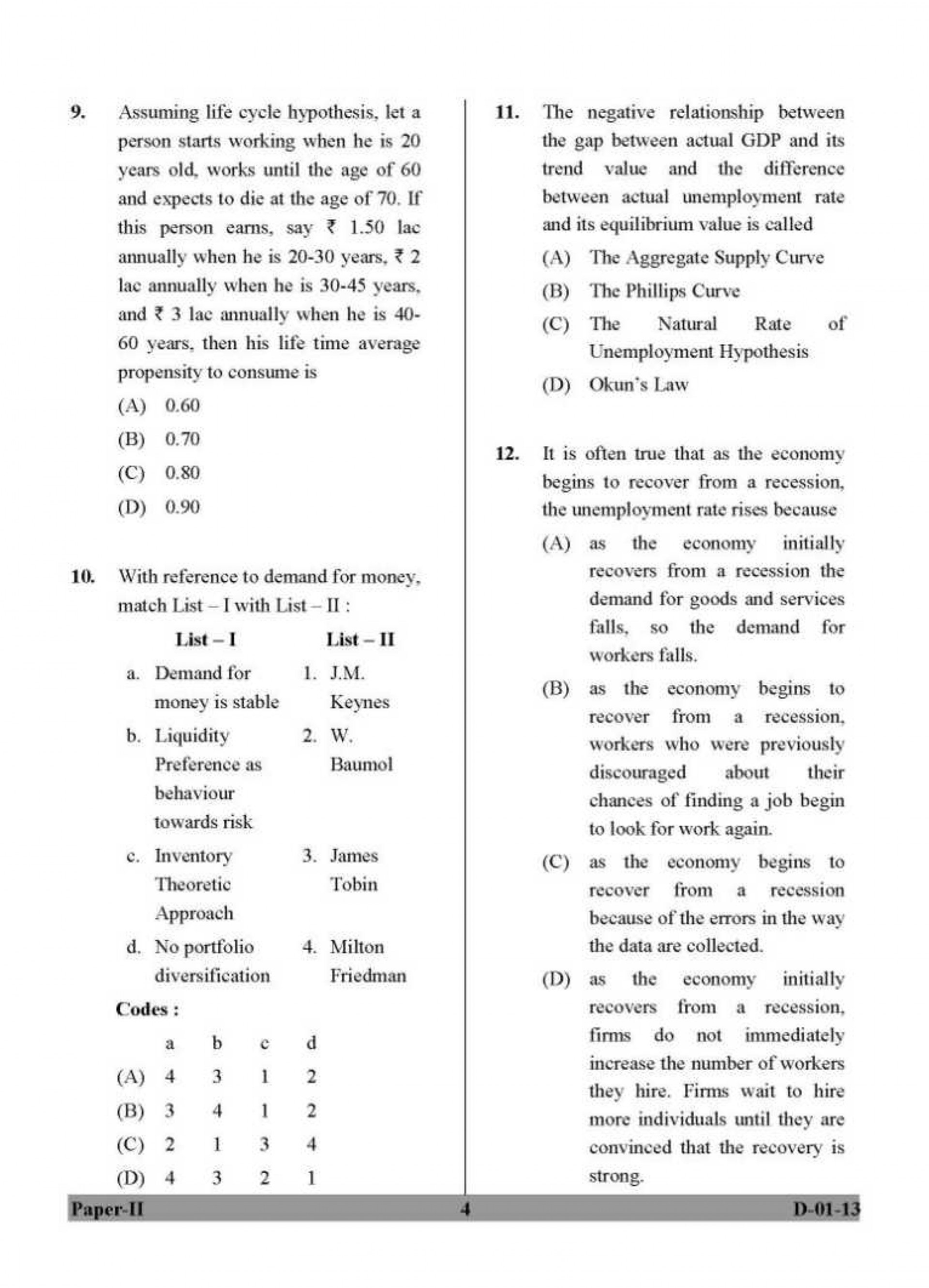 009 Research Paper Best Topic For In Economics Model Question Papers Stirring 1920