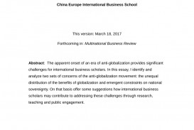 009 Research Paper Business Topics For Globalization Magnificent
