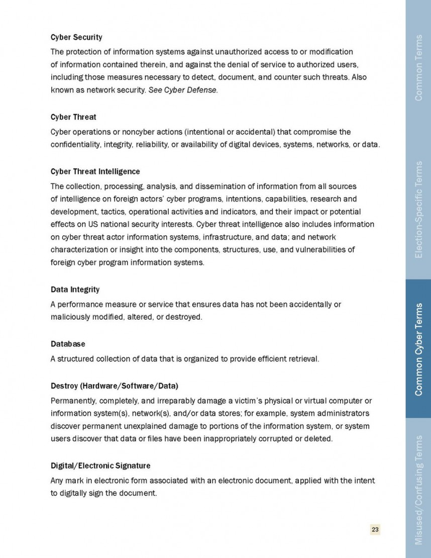 009 Research Paper Cyber Security Pdf Page22 1024px Threats To Elections Lexicon 2018 Ctiic Unique Ieee On