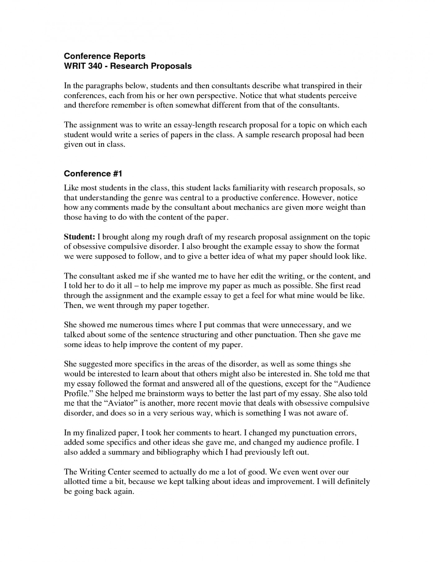 project management research proposal examples