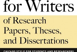 009 Research Paper Frontcover Manual For Writers Of Papers Theses And Sensational A Dissertations 8th Edition Pdf Eighth
