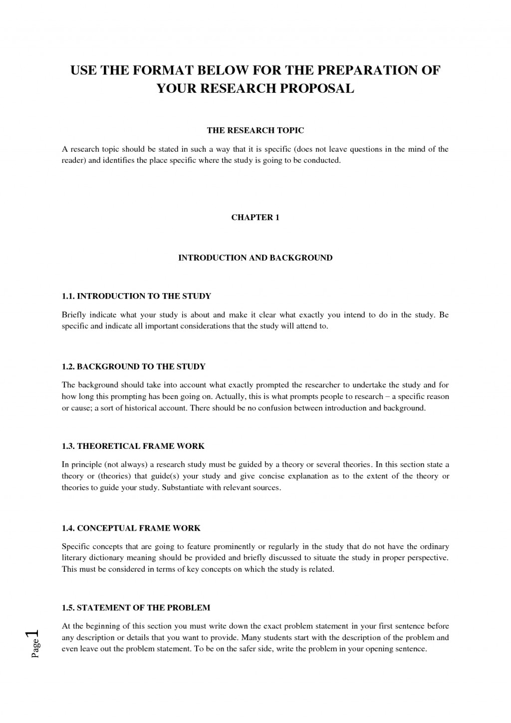 009 Research Paper How To Write Scientific Outline Sample Of Proposal Template 59708 Wondrous A Science Large