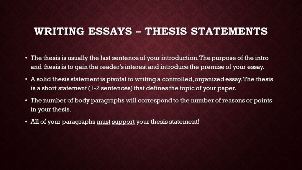 009 Research Paper How To Write Thesis Statement For In Mla Format Slide 2 Incredible A Large