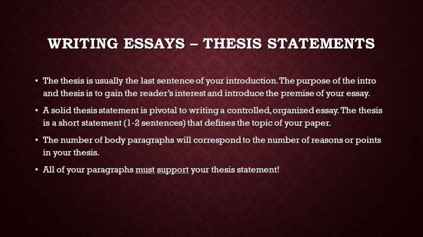 009 Research Paper How To Write Thesis Statement For In Mla Format Slide 2 Incredible A