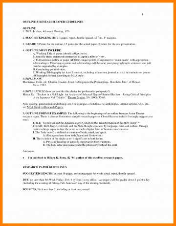 009 Research Paper In Mla Format Unique Sample Pages Style Of Stupendous Papers Example Works Cited College Writing 360