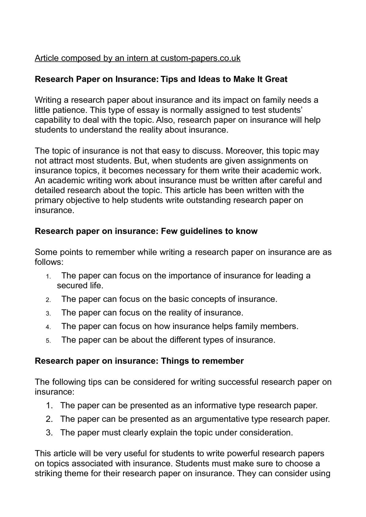 009 Research Paper P1 Type Of Exceptional Papers Types High School Ppt Apa Full