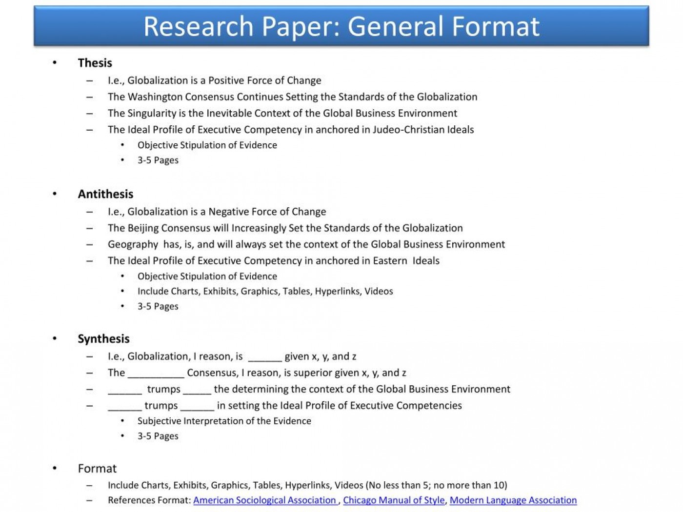 009 Research Paper Powerpoint Presentation Format For General Unique Sample Ppt 1400