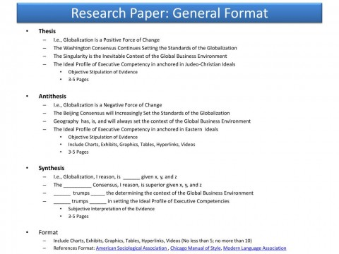 009 Research Paper Powerpoint Presentation Format For General Unique Sample Ppt 480