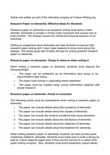 009 Research Paper Unique Ideas Imposing For High School Biology History In Psychology 360