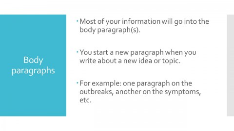 009 Slide 4 Research Paper How To Start New Paragraph Sensational A In Your Introduction On Topic Sentence Off Body 480