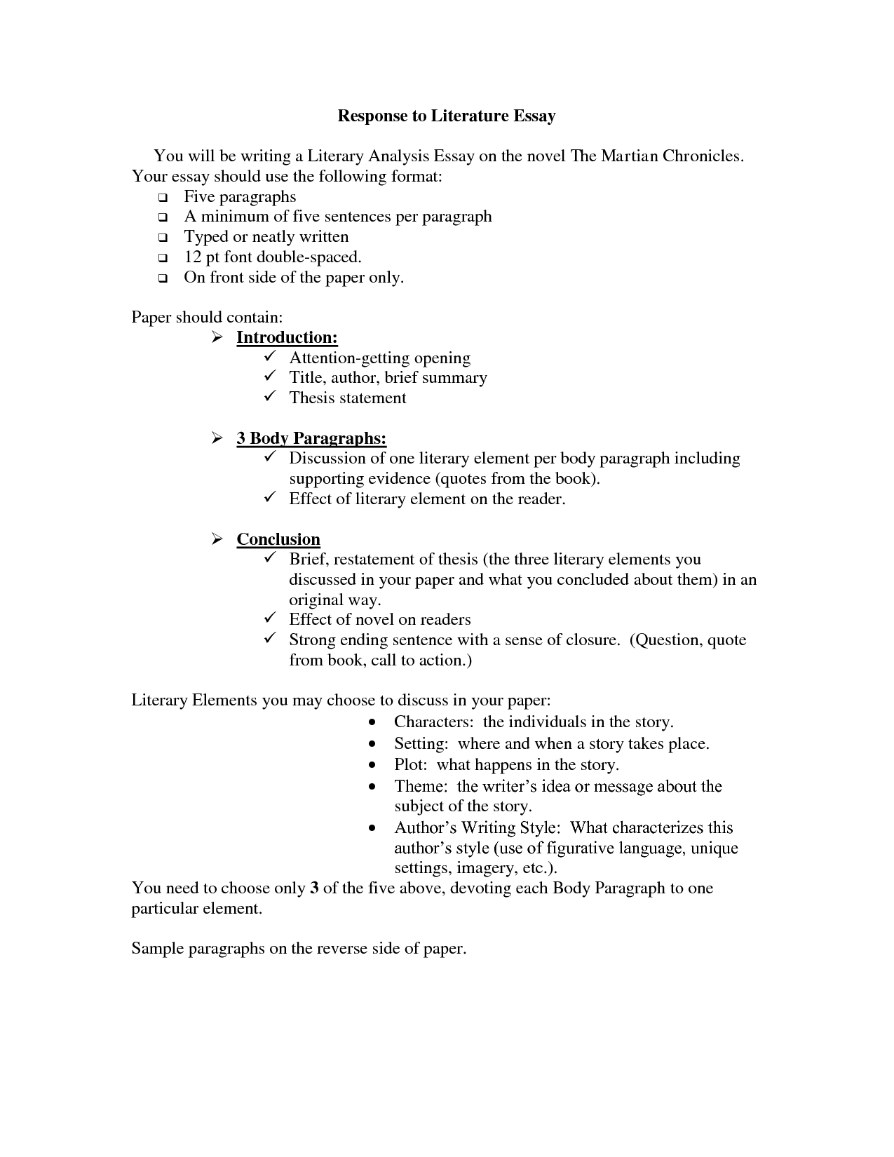 Thesis Statement In An Essay  High School Persuasive Essay also English Essay Story  Write Critical Analysis Essay Response To  Compare And Contrast Essay Examples High School