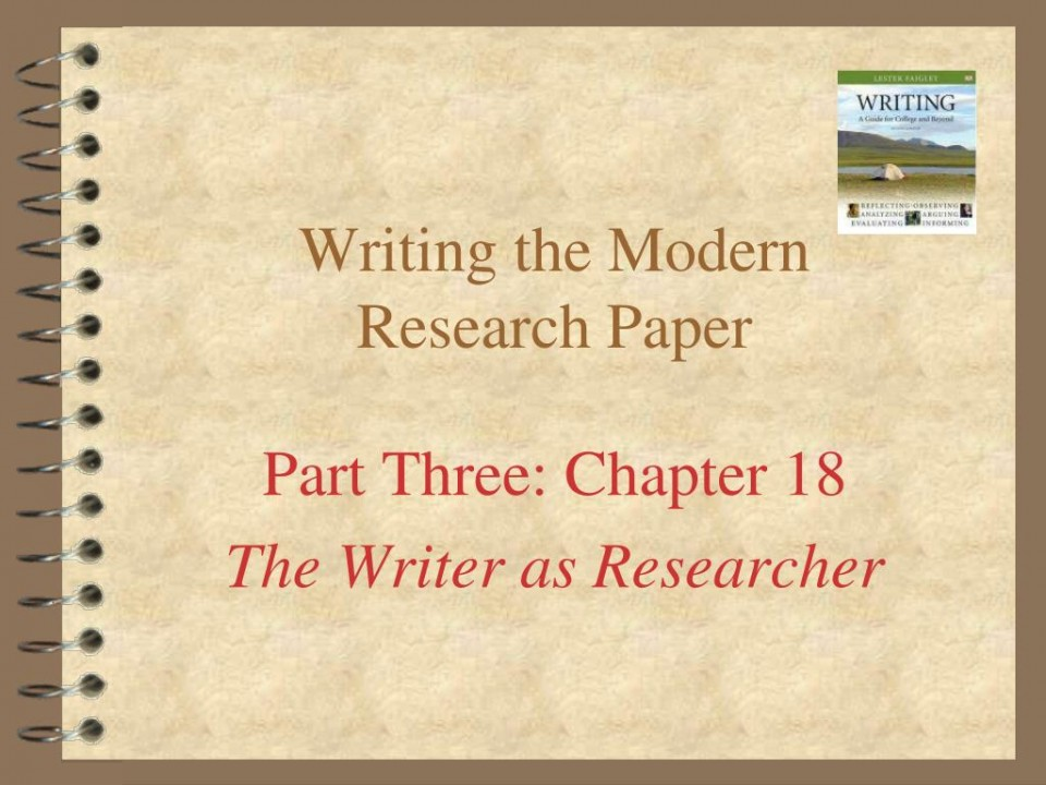 009 Writing The Modern Research Paper L How To Write Powerpoint Awesome A Presentation 960