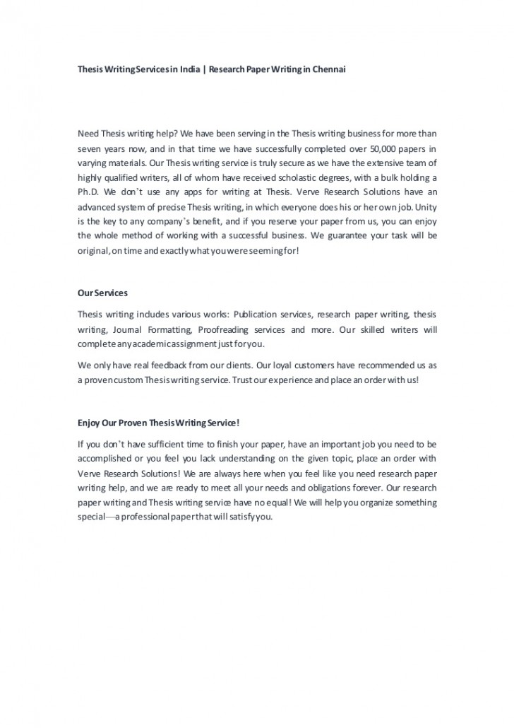 010 Academic Research Paper Writing Services In India Ourexperience Thumbnail Marvelous Best 728