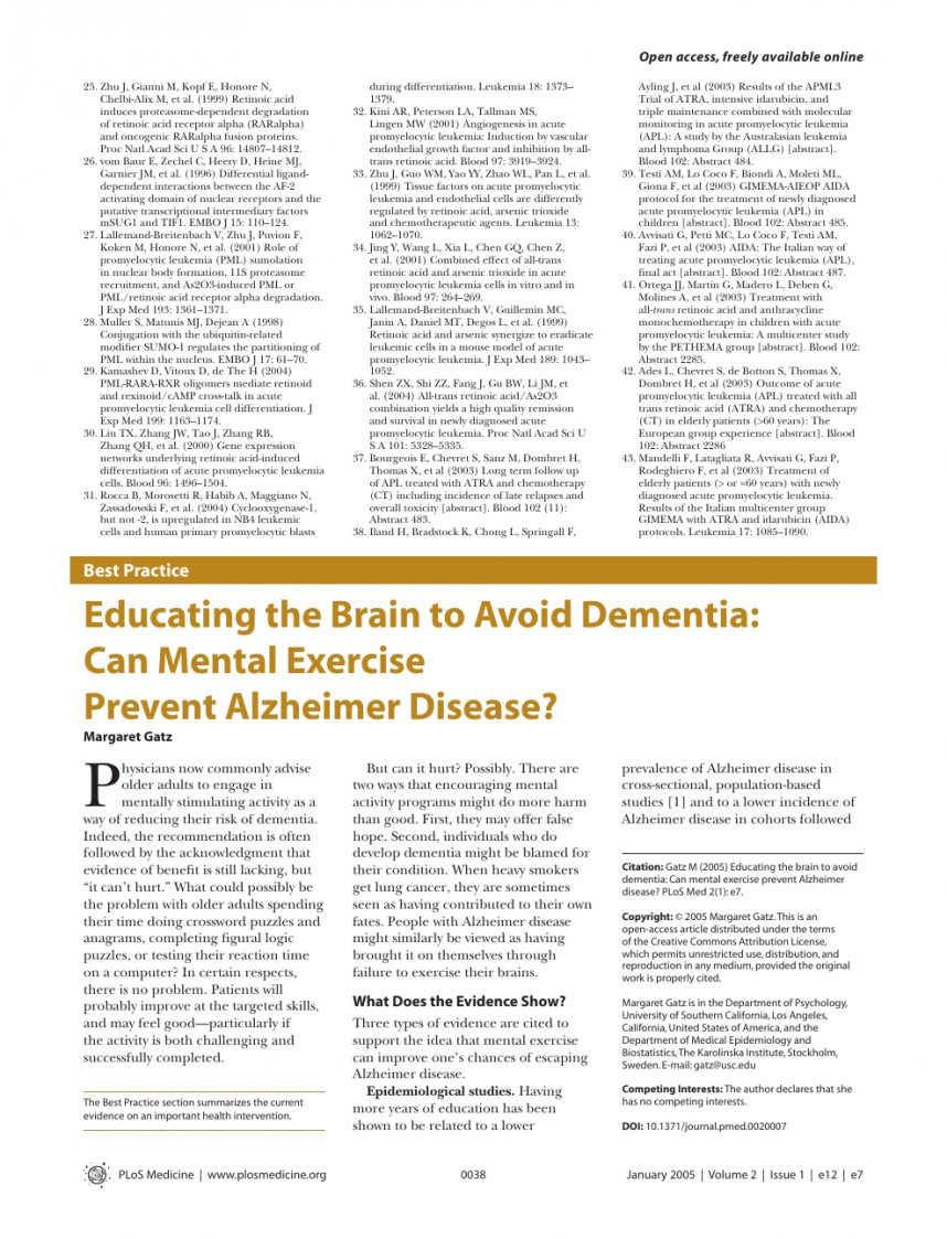 010 Alzheimers Disease Research Paper Topics Stunning Alzheimer's Ideas