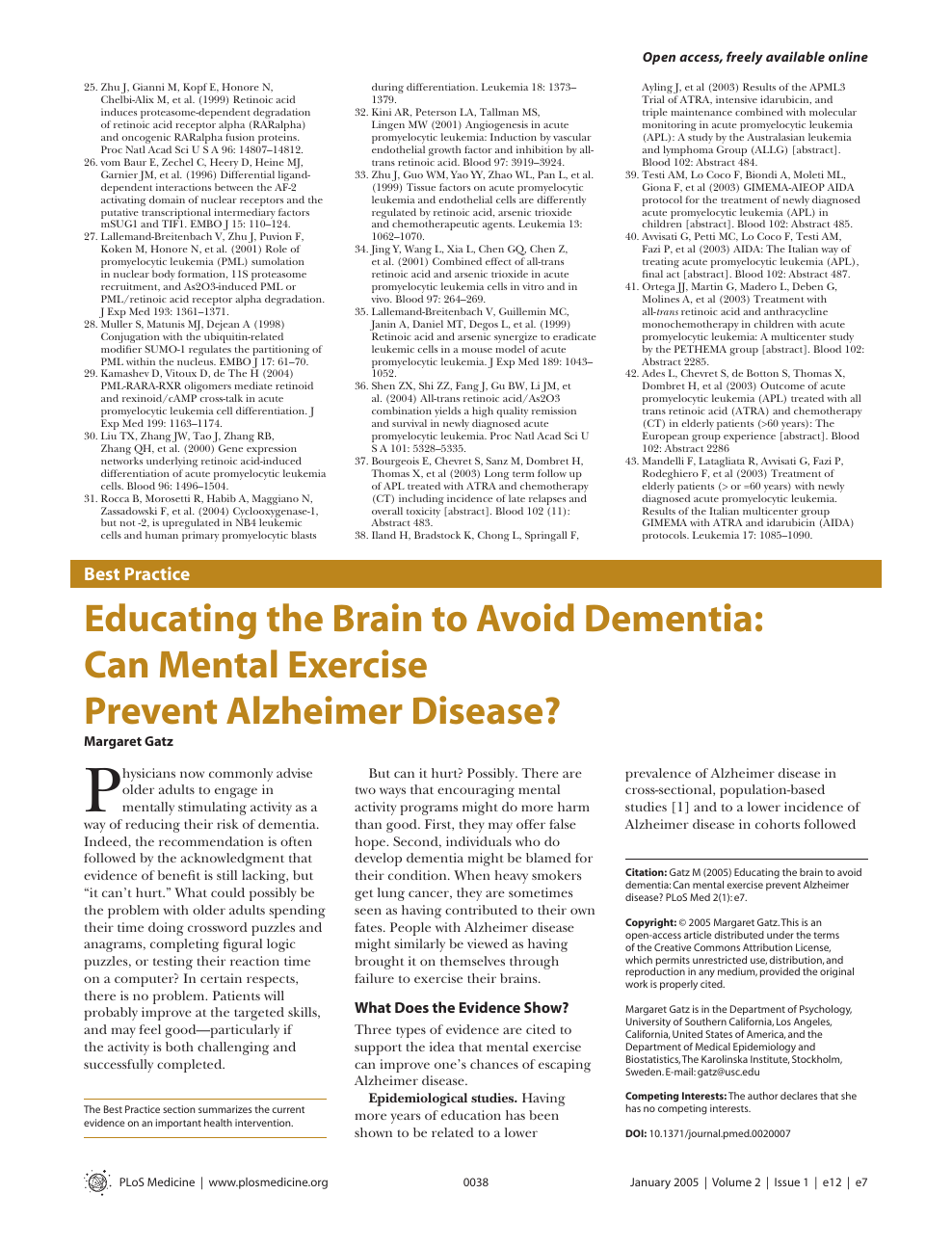 010 Alzheimers Disease Research Paper Topics Stunning Alzheimer's Ideas Full