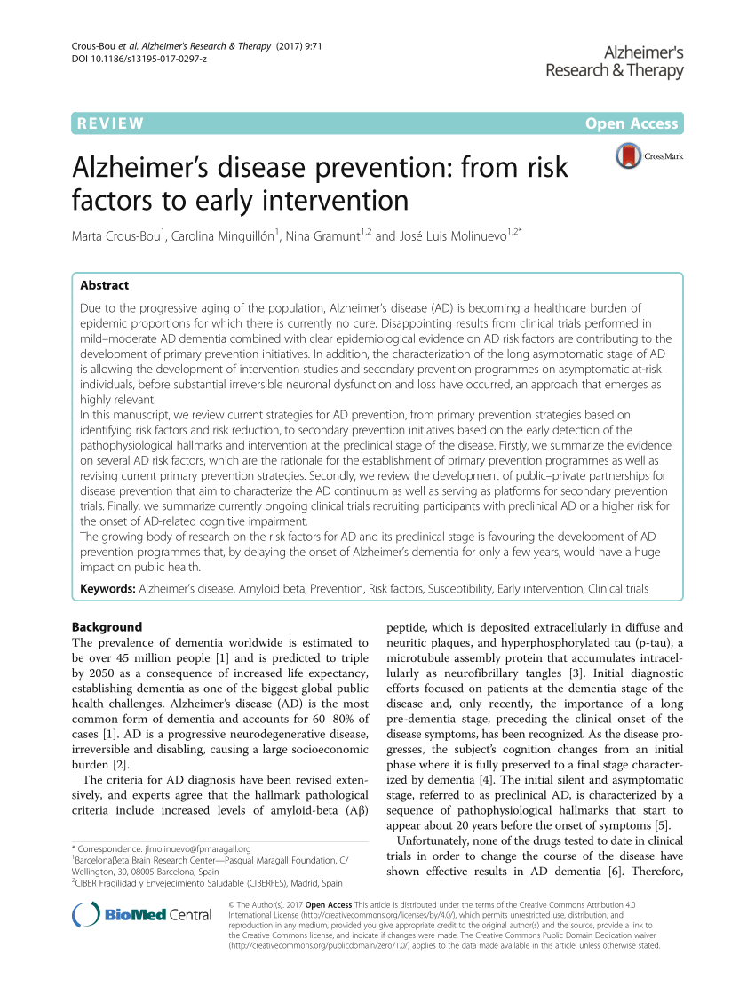 010 Alzheimers Research Paper Questions Formidable Alzheimer's Disease Topics Full