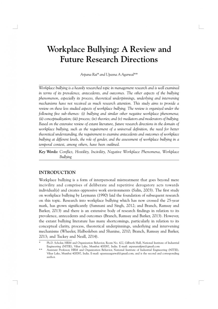 010 Bullying Articles For Research Papers Paper Rare