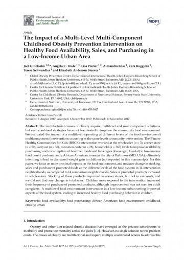 010 Childhood Obesity Research Paper Introduction Frightening 360