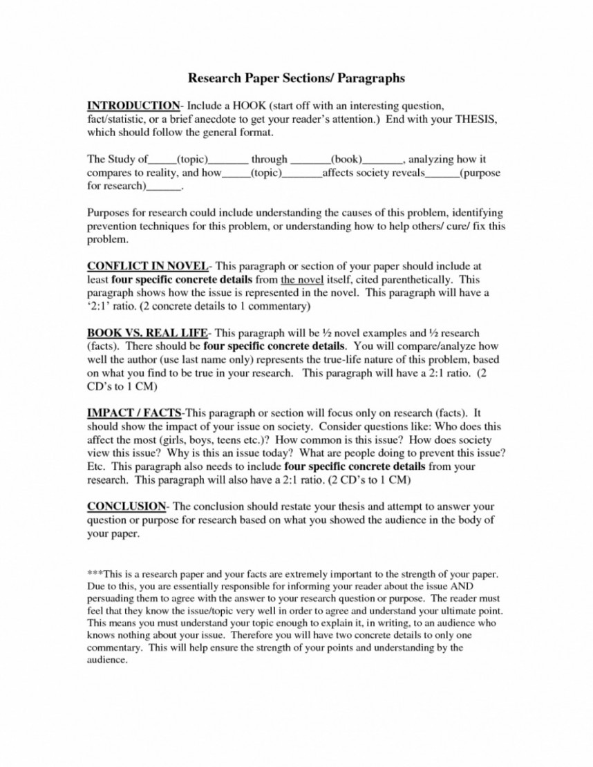 010 Conclusion Paragraph Example For Research Paper Examples And Within Top Format