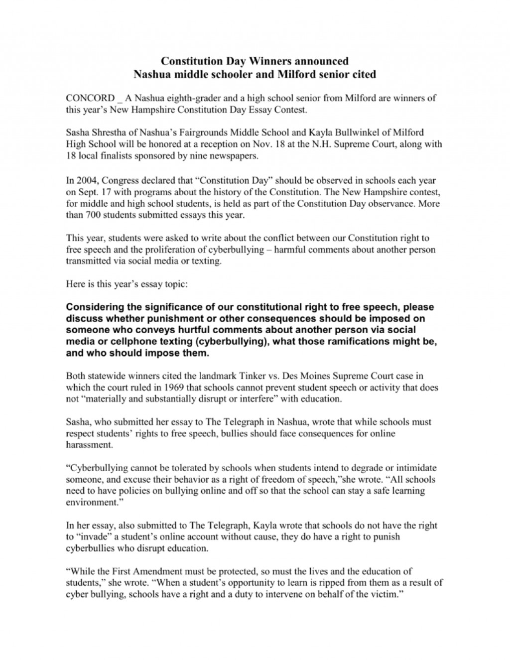 010 Cyberbullying Research Paper Awesome Questions Large
