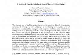 010 Database Security Research Paper Abstract Fascinating