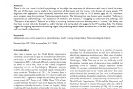 010 Depression Research Paper Sample Shocking Postpartum Example Great 320