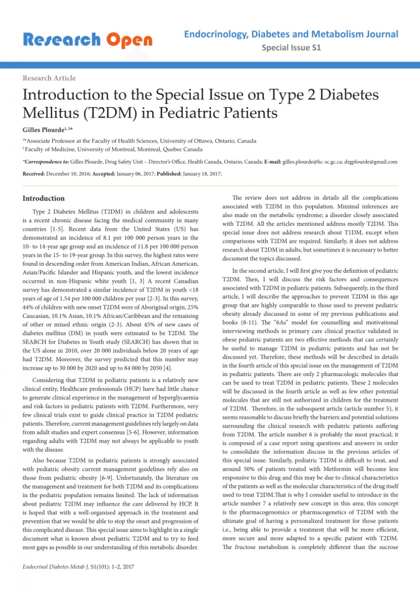 010 Diabetes Mellitus Researchs Largepreview Outstanding Research Papers Pdf Paper Outline