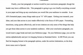 010 Example Of Apa Research Paper Fantastic Conclusion Pdf And Recommendation