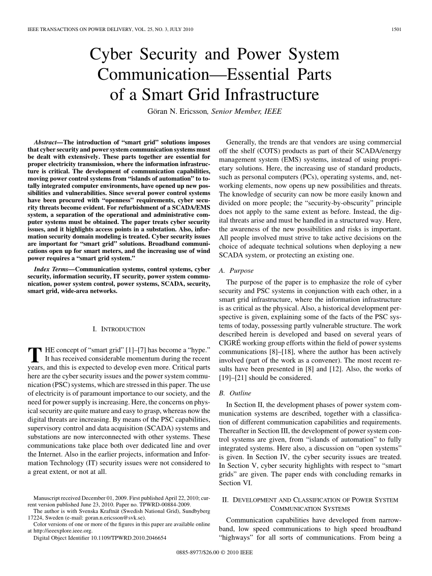010 Ieee Research Paper On Cyber Security Pdf Breathtaking Network Full