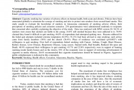 010 Largepreview Example Research Paper Smoking Top Pdf