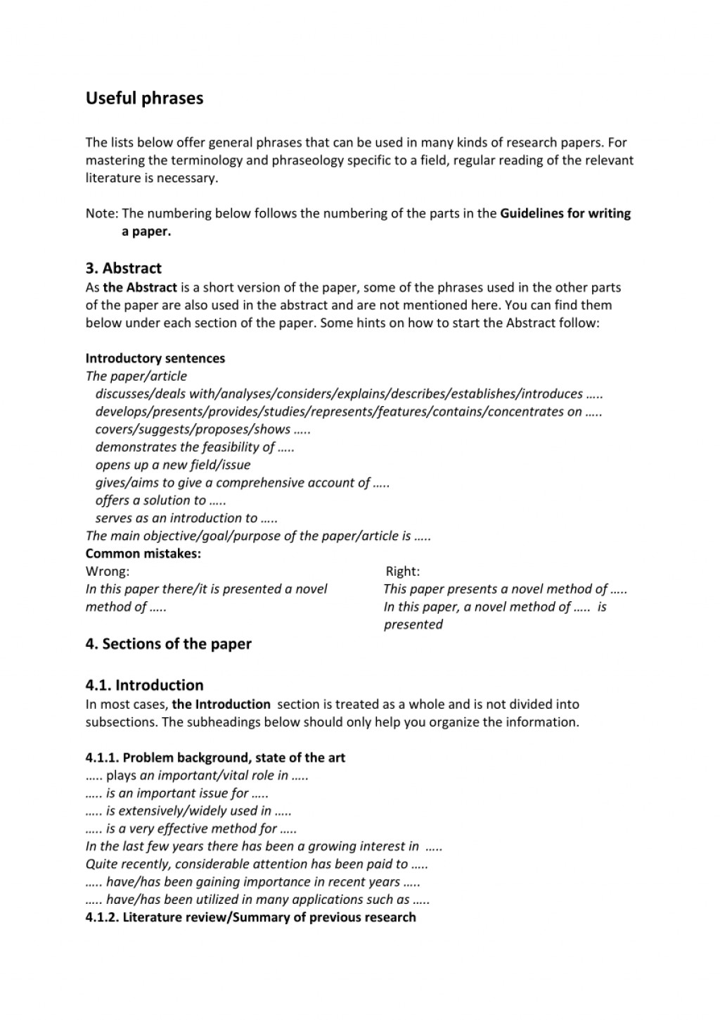 010 Largepreview How To Start The Beginning Of Research Unique A Paper Discussion Section Write Body Apa Intro Example Large