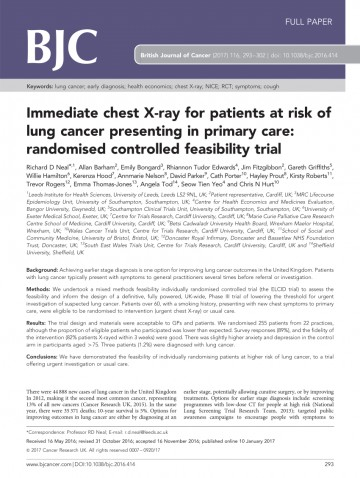 010 Lung Cancer Research Paper Conclusion Unusual 360