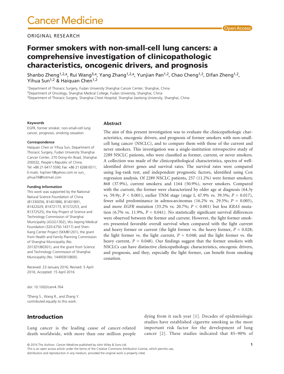 Unforgettable Lung Cancer Research Paper Introduction ...