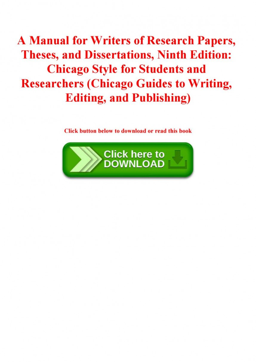 010 Manual For Writers Of Research Papers Theses And Dissertations 9th Edition Pdf Paper Page 1 Wonderful A