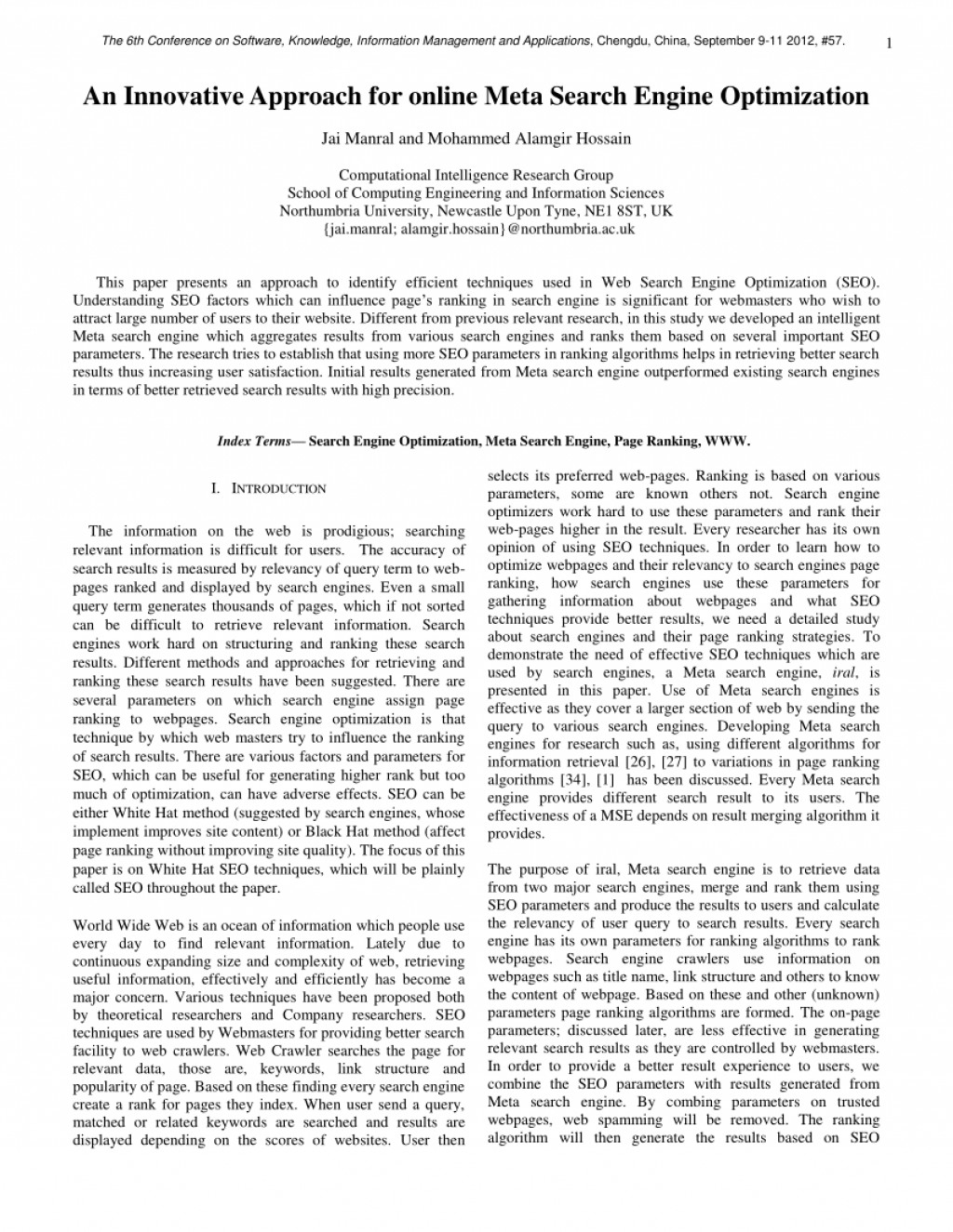 010 Meta Search Engine Research Paper Formidable Large