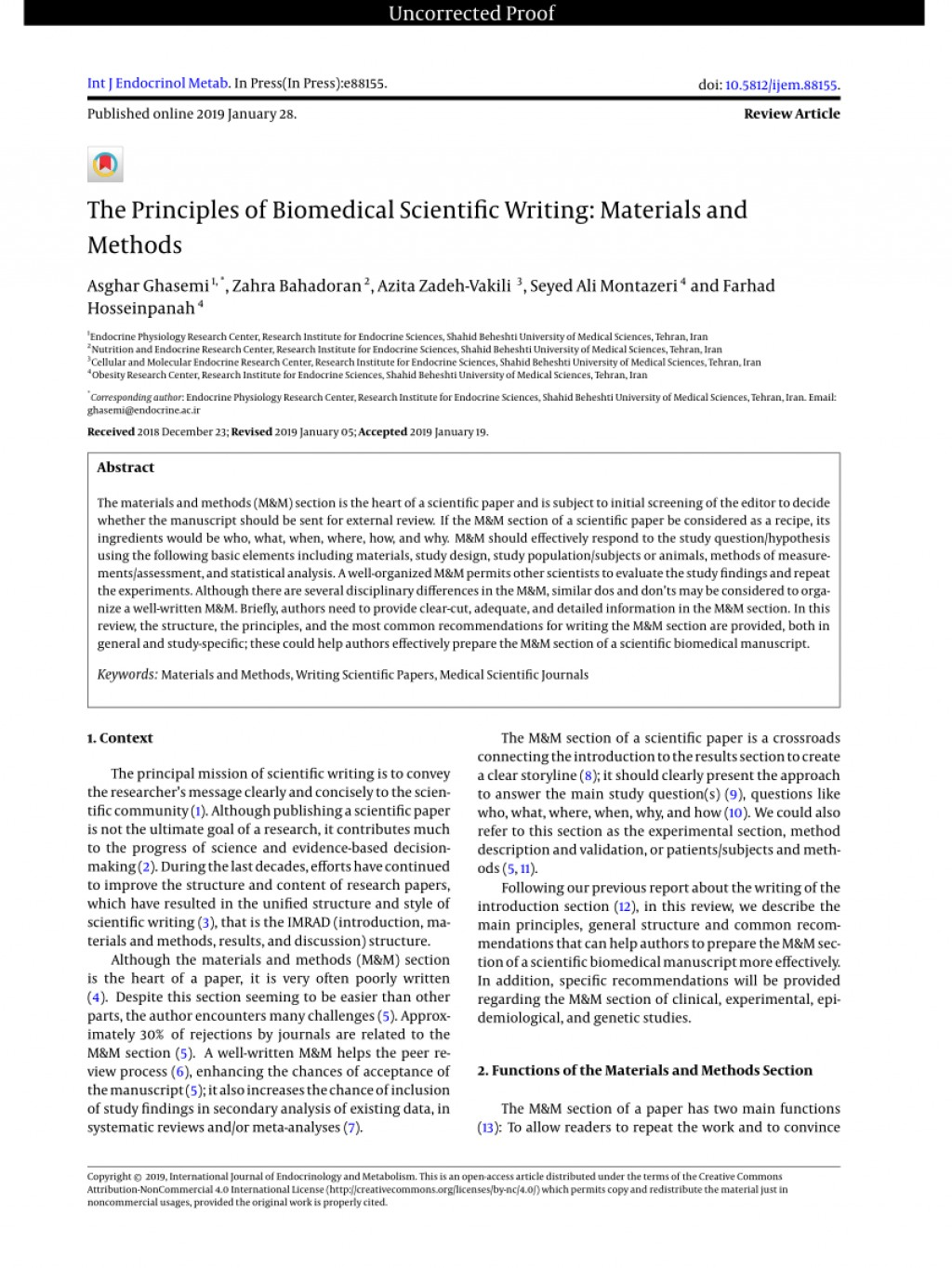 010 Methods Example For Research Paper Breathtaking Of Materials And Section A Writing Method Results Large