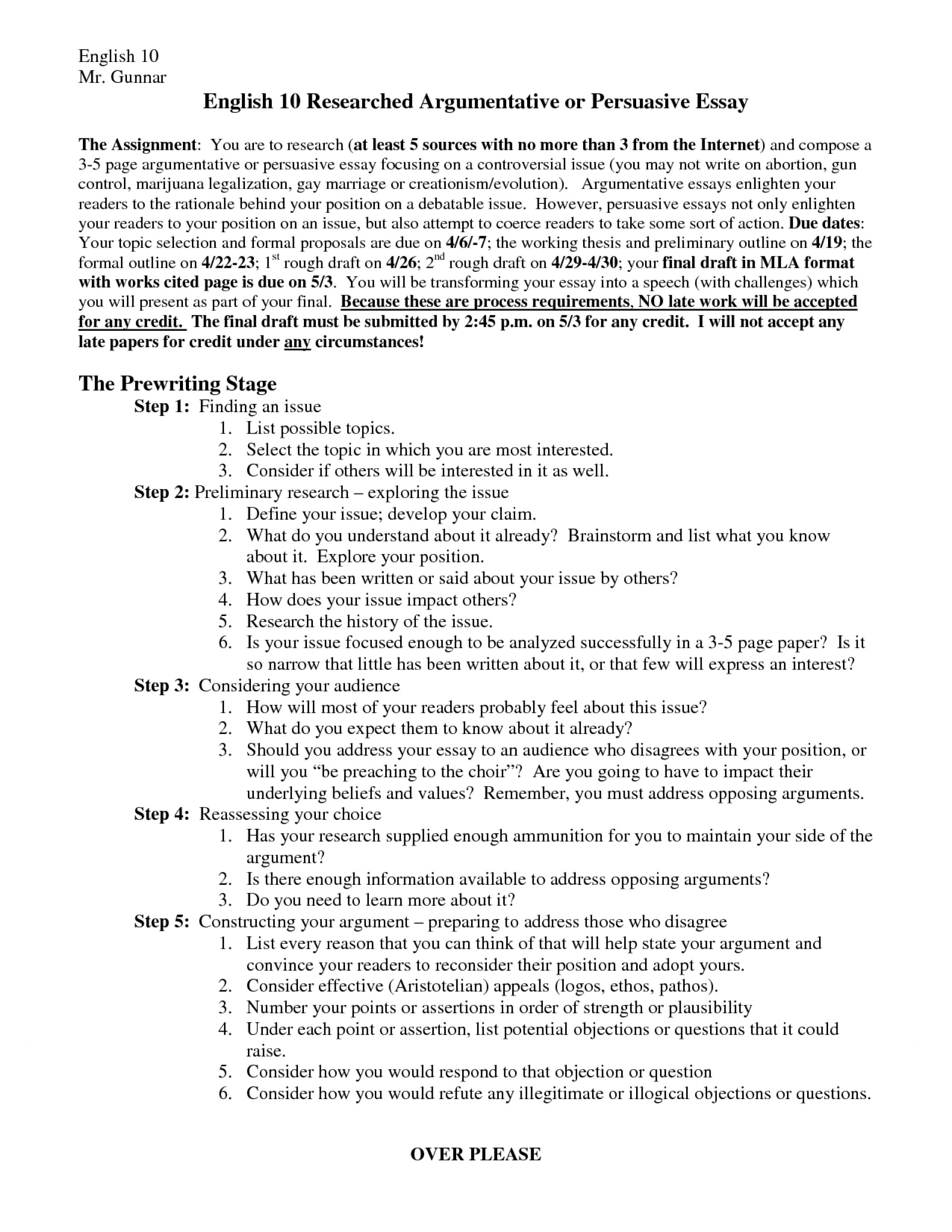010 Mla Format Argumentative Essay Outline 472291 Research Paper Dreaded Essays Green Technology Topics 1920
