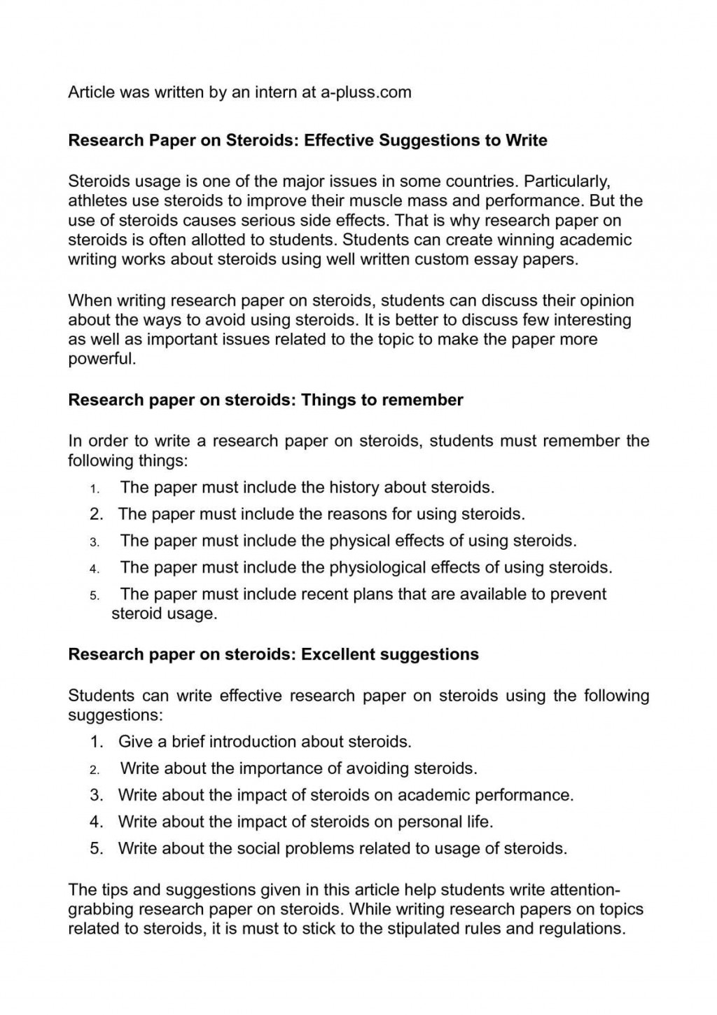 010 P1 Research Paper Steps To Write Unbelievable 10 A Basic Writing Ppt Large