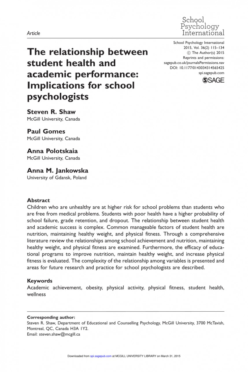 010 Physical Education Research Paper Thesis Pdf Remarkable