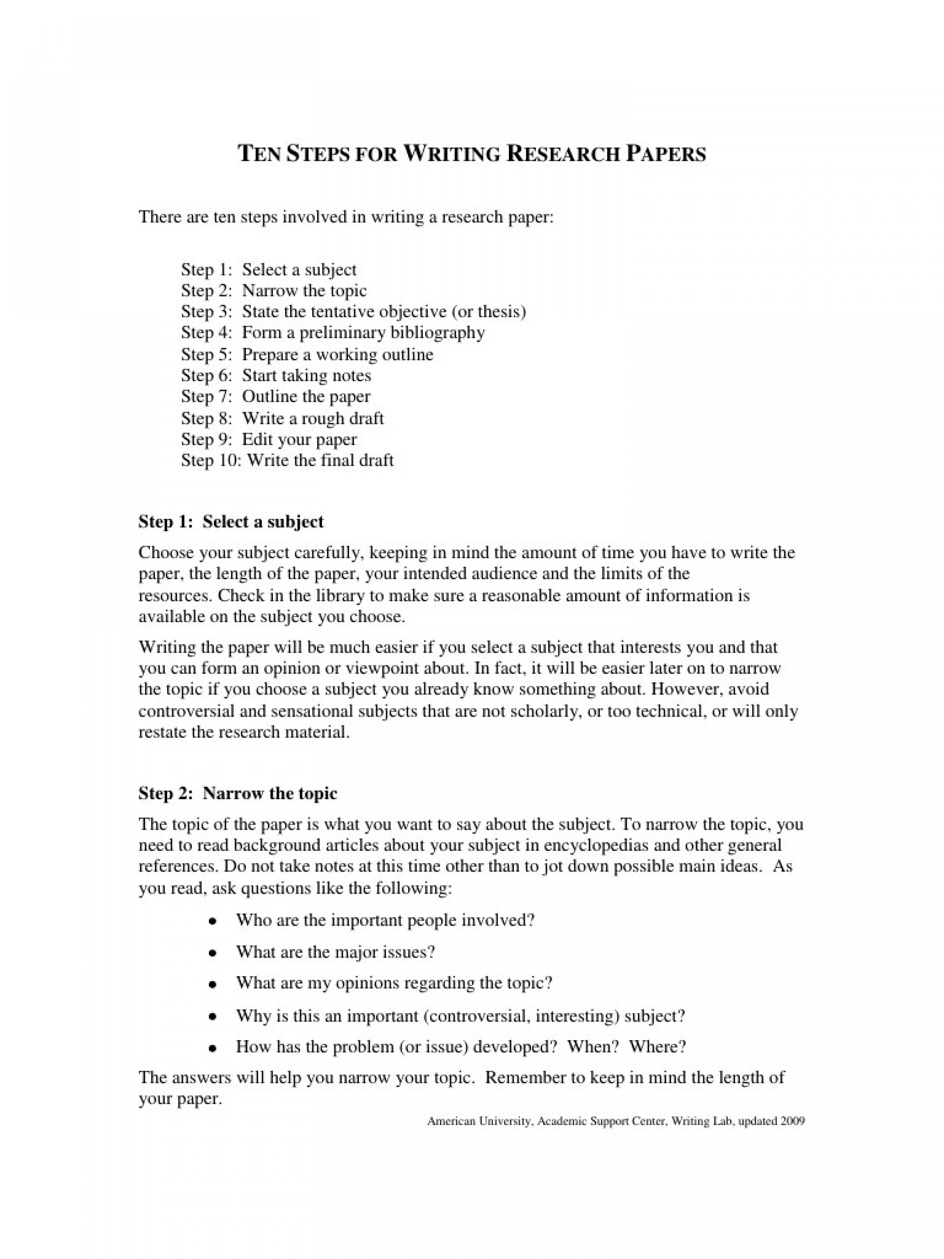 010 Preview Ten Steps For Writing Researchs Frightening Research Paper 12 Papers To A 10 Page 1920