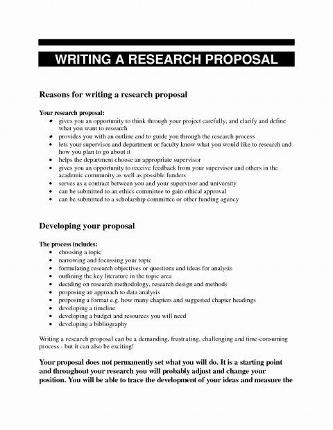 010 Proposal Template For Research Paper Essay Topics College Students Sample Beautiful A Example Of Writing 480