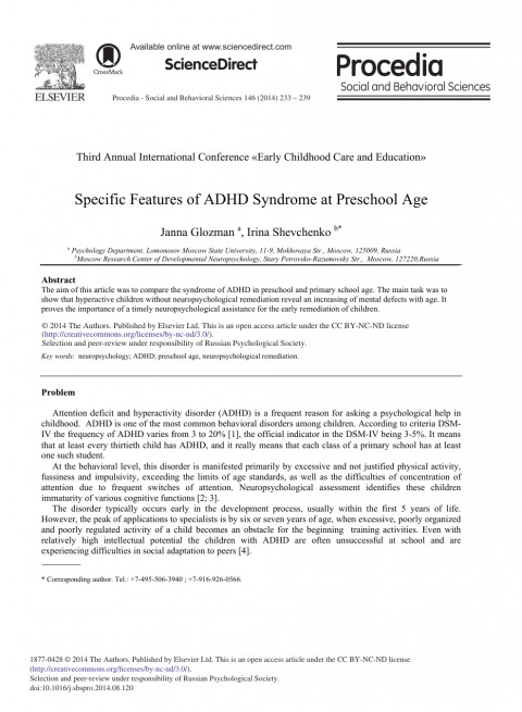 010 Research Paper Adhd Amazing Abstract 480