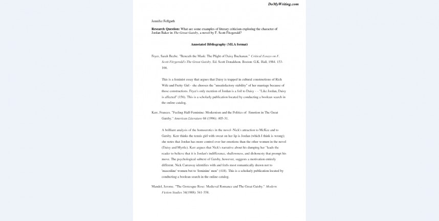 010 Research Paper Annotated Bibliography Sample Example Wonderful