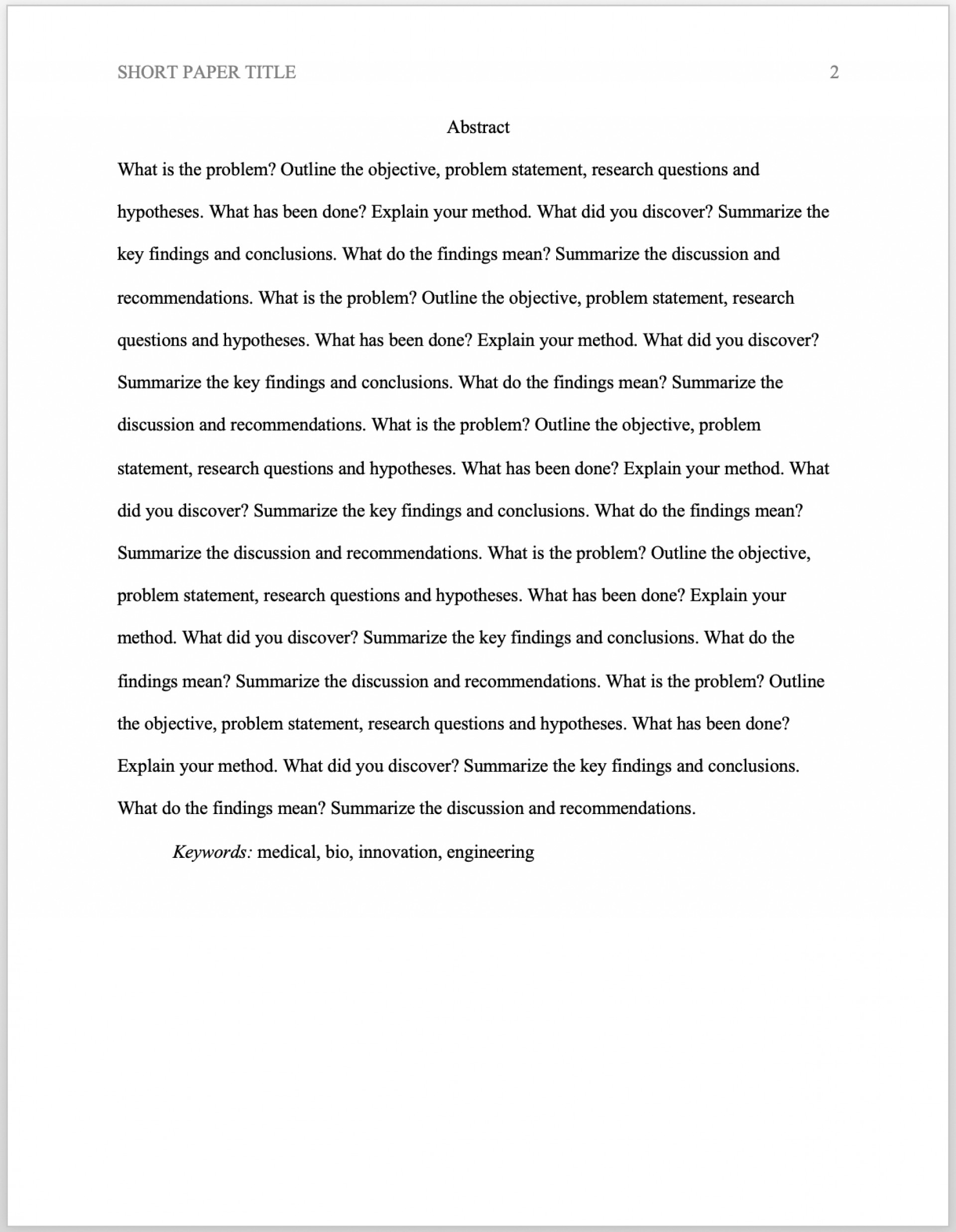 010 Research Paper Apa Abstract Format Surprising Generator Citation 1920